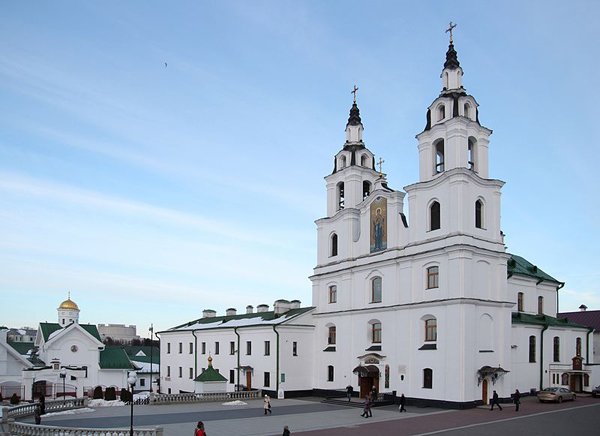 The Orthodox Cathedral of the Descent of the Holy Spirit, Minsk