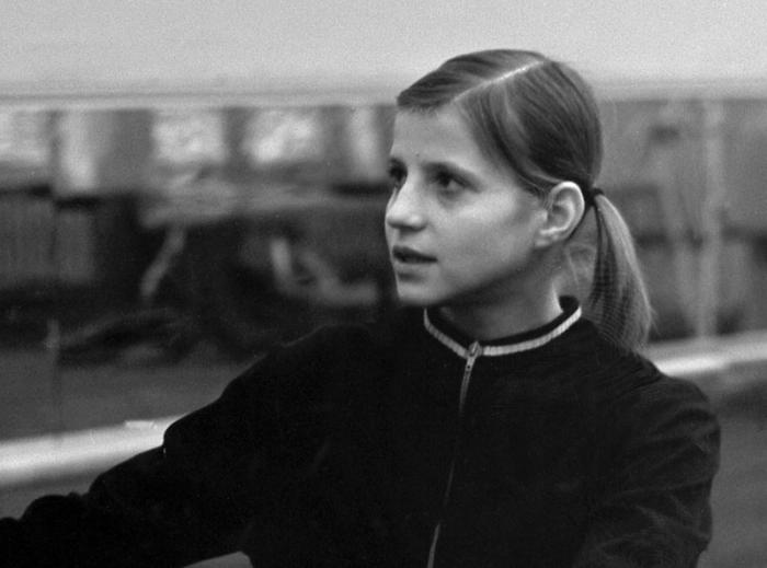 Olga Korbut in childhood
