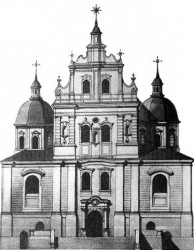 The Church of St. Thomas Aquinas, XIXth century, Minsk