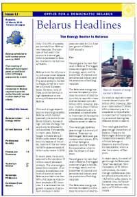 Belarus Headlines LI