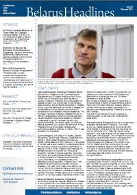Belarus Headlines  6