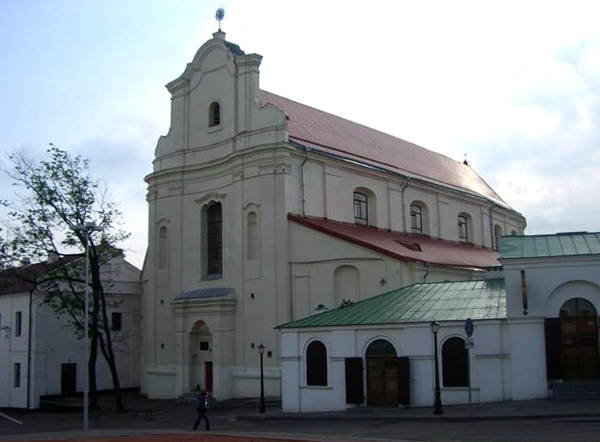 The Church of St. Joseph, Minsk